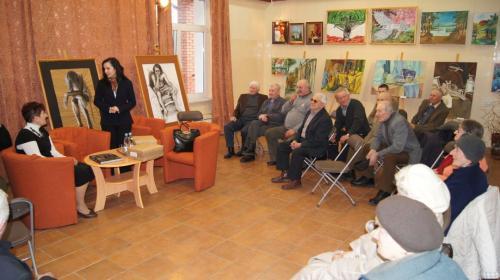 2012.03.15 - Spotkanie z Beatą Kozaczyńską